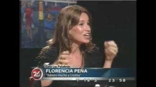 Florencia Peña en Café Las Palabras parte 3 de 4