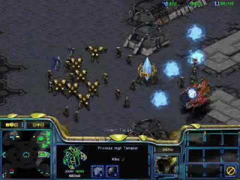 Starcraft White-Ra - Протоcсы против зергов, вечная война [2/2]
