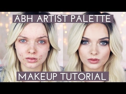 Acne Coverage // ABH Artist Palette Makeup Tutorial //  MyPaleSkin #2