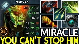 Miracle- [Medusa] Pro Bring Medusa Go Mid You Can't Stop Him 7.21 Dota 2