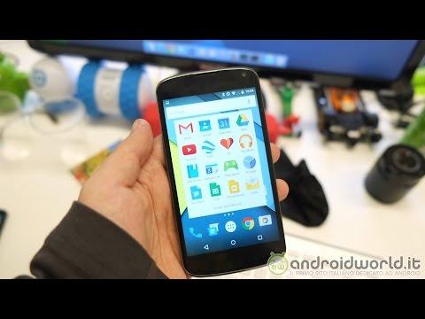 Anteprime delle nuove app di Android 5.0 Lollipop