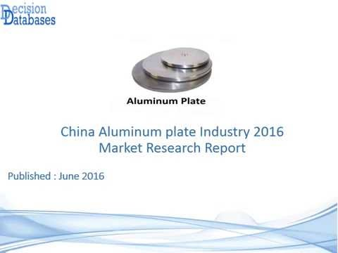 China Aluminum plate Industry 2016 Market Research Report