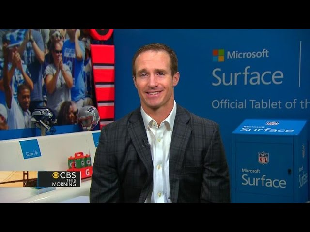 """Drew Brees on """"deflate-gate,"""" how teams prepare footballs for game day"""