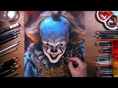 Рисунок Пеннивайза Танцующего клоуна | drawholic