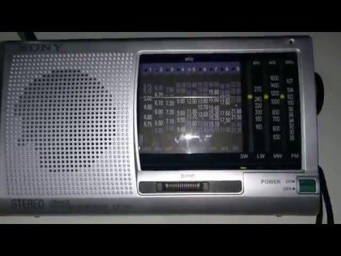 Sony ICF-SW11 | 11980 Khz China International Radio