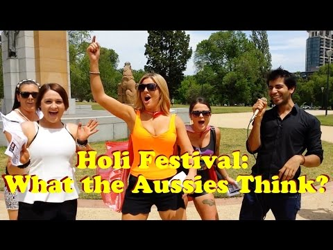 Holi Festival: What the Aussies Think?