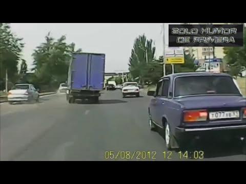 Choques de autos INCREIBLES en Rusia