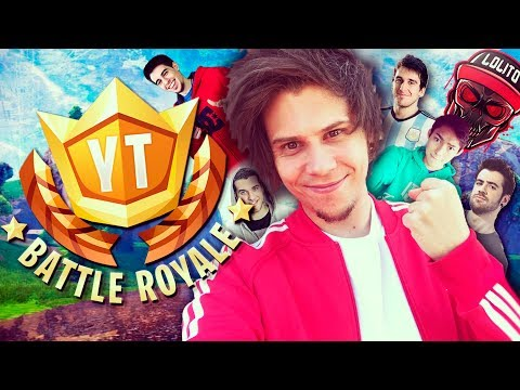 TORNEO PRESENCIAL 100 YOUTUBERS #YTBattleRoyale - Fortnite - elrubiusOMG