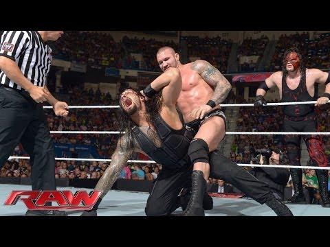 John Cena & Roman Reigns vs. Randy Orton & Kane: Raw, June 30, 2014 thumbnail