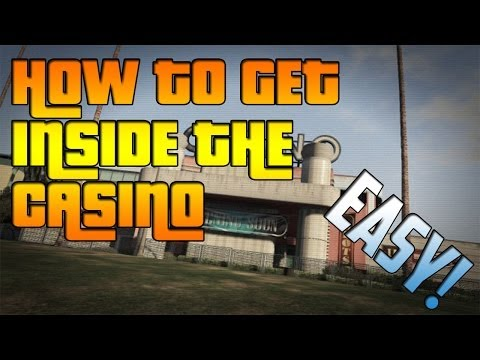 GTA V ONLINE – How to get inside the Casino ! Barrier Glitch , EASY!