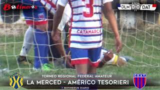 FEDERAL AMATEUR, La Merced vs Tesorieri