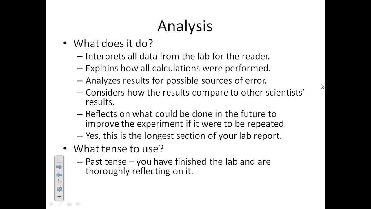 formal lab report help