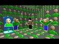 GÖRÜNMEYEN KORKUNÇ ÖĞRETMEN BALDİ OLDUM! - Minecraft SAKLAMBAÇ