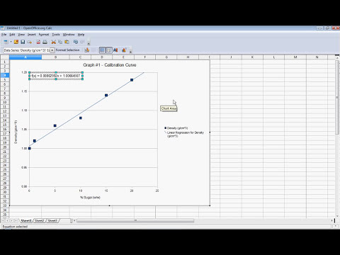 Scatter Plot with Open Office Calc.avi