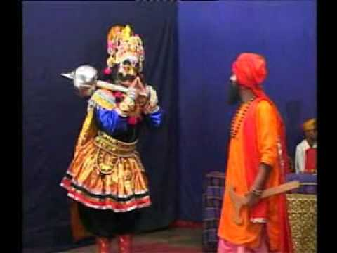 Yakshagana Tenkutittu Balipa Sing With Gangayashetty video
