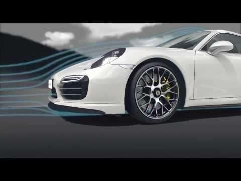 Porsche 911 Turbo Аэродинамика: Лучшая в мире