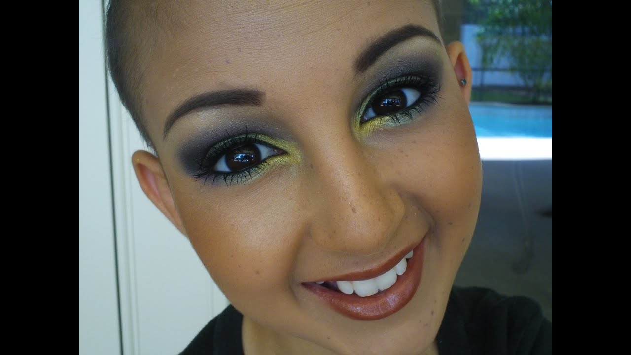 Youtube video eye makeup