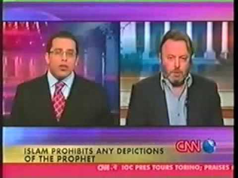 Hitchens schools a Muslim on free speech