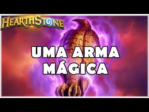 HEARTHSTONE - UMA ARMA MÁGICA! (STANDARD CONTROL MAGE)
