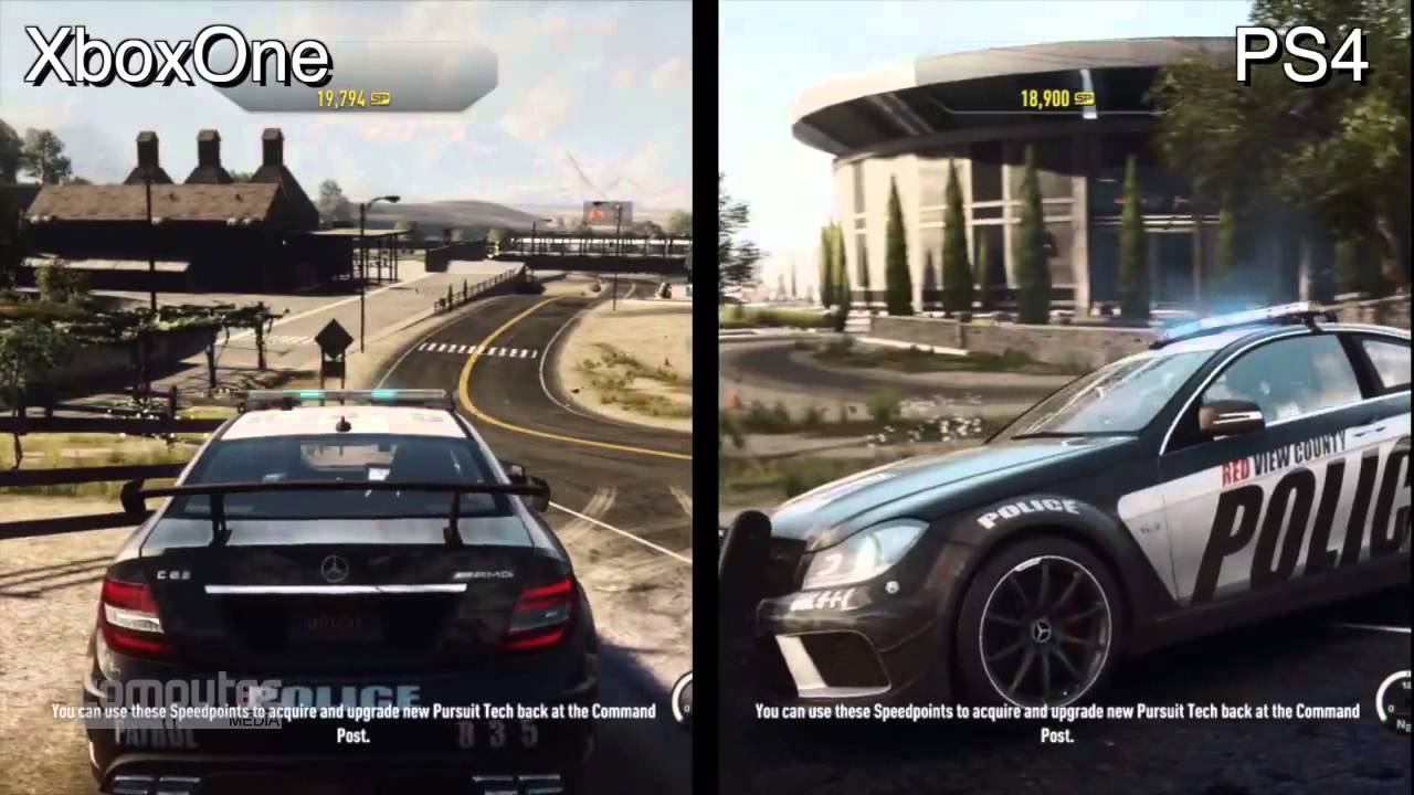 need for speed rivals xbox one versus playstation 4 graphics comparison youtube. Black Bedroom Furniture Sets. Home Design Ideas