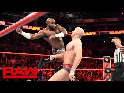 Titus Worldwide vs. Sheamus & Cesaro: Raw, Feb. 19, 2018