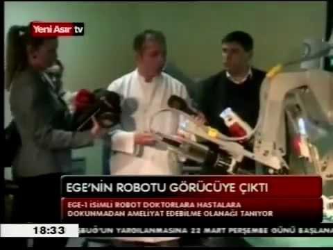 YENİ ASIR TV - İlk Robotik Cerrahi - 27.03.2014
