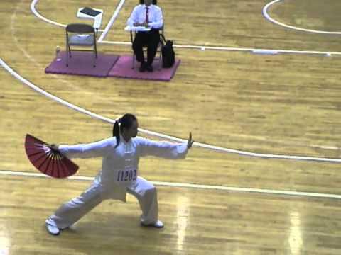 第9屆青年盃全國中等學校太極拳錦標賽  高中女子組  許之畇  太極扇