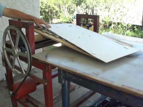 TROQUELADORA SUAJADORA PARA CAJAS DE CARTON DIE CUTTING MACHINE