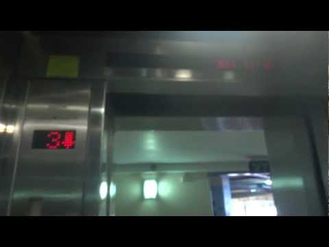 BUSY Electra traction elevators at Cinema City in Ramat HaSharon(Parking elevators)
