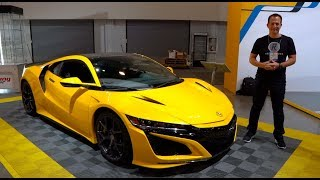 What is the MAJOR change for the 2020 Acura NSX?
