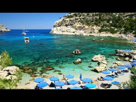 Some of the best beaches in Greece! 720p/HD