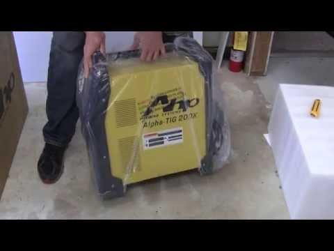 AHP AlphaTIG 200X 2015 Version 3 Unboxing and Packaging Review of Tig Welder