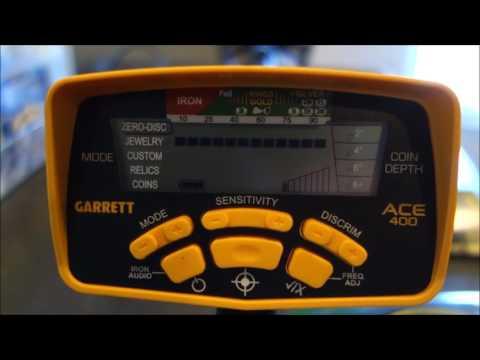 Metal Detecting: Garrett Ace 400 Review and Testing