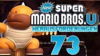 Let's Play New Super Mario Bros U [100%] part 73 - Die Top 4 der Challenges
