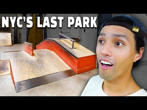 I Found The LAST INDOOR SKATEPARK In New York City