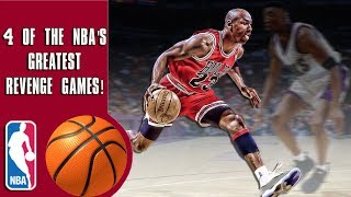 4 of the NBA's greatest revenge games of all time!