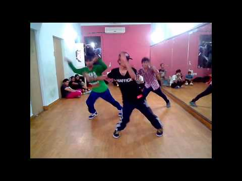 Yo Yo Honey Singh brown Rang Choreo By Kunal video