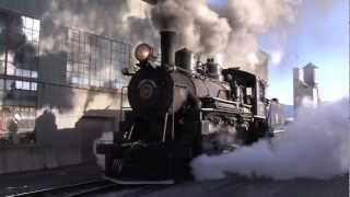 Winter Steam - Nevada Northern Railway