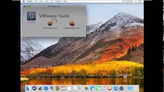 How to enable Fullscreen macOS High Sierra 10.13 on VMware workstation