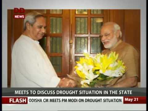 PM meets Odisha CM Naveen Patnaik