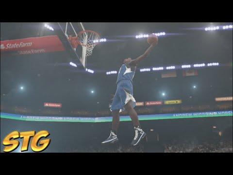NBA 2k15 PS4 HD All Star Weekend Sprite Slam Dunk Contest! Zach LaVine vs Andrew Wiggins!