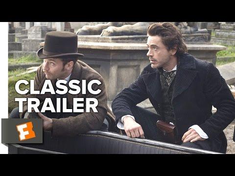 Sherlock Holmes (2009) Official Trailer #1 - Robert Downey Jr., Jude Law Movie HD