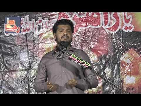 Zakir Yasir Raza Jhandave | Jalsa Narowali Gujrat |10 November 2018 ( www.Gujratazadari.com )