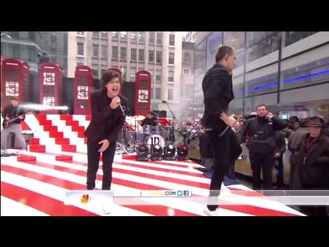One Direction- One Thing- Live On The Today Show video
