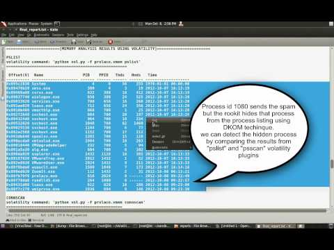 Reversing and Malware Analysis Training - Rootkit Analysis Demo2 (prolaco)