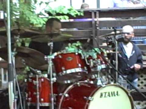 The Funky Blue Devils Mike Marsh Drum Solo/ Hard to Handle