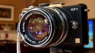 Panasonic GF1 Lens Review