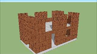 Строительство зданий из кирпичных блоков