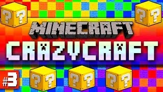 Minecraft Mods Crazy Craft #3 'LUCKY BLOCK!' with Vikkstar (Minecraft Crazy Craft 2.1)
