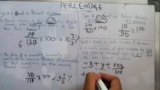 Best Tricks on Percentage Part 1